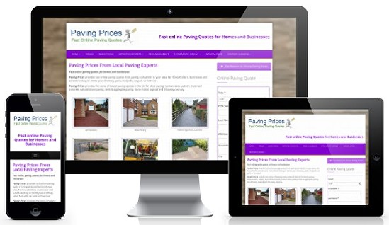 Home Improvement Leads from pavingprices.co.uk