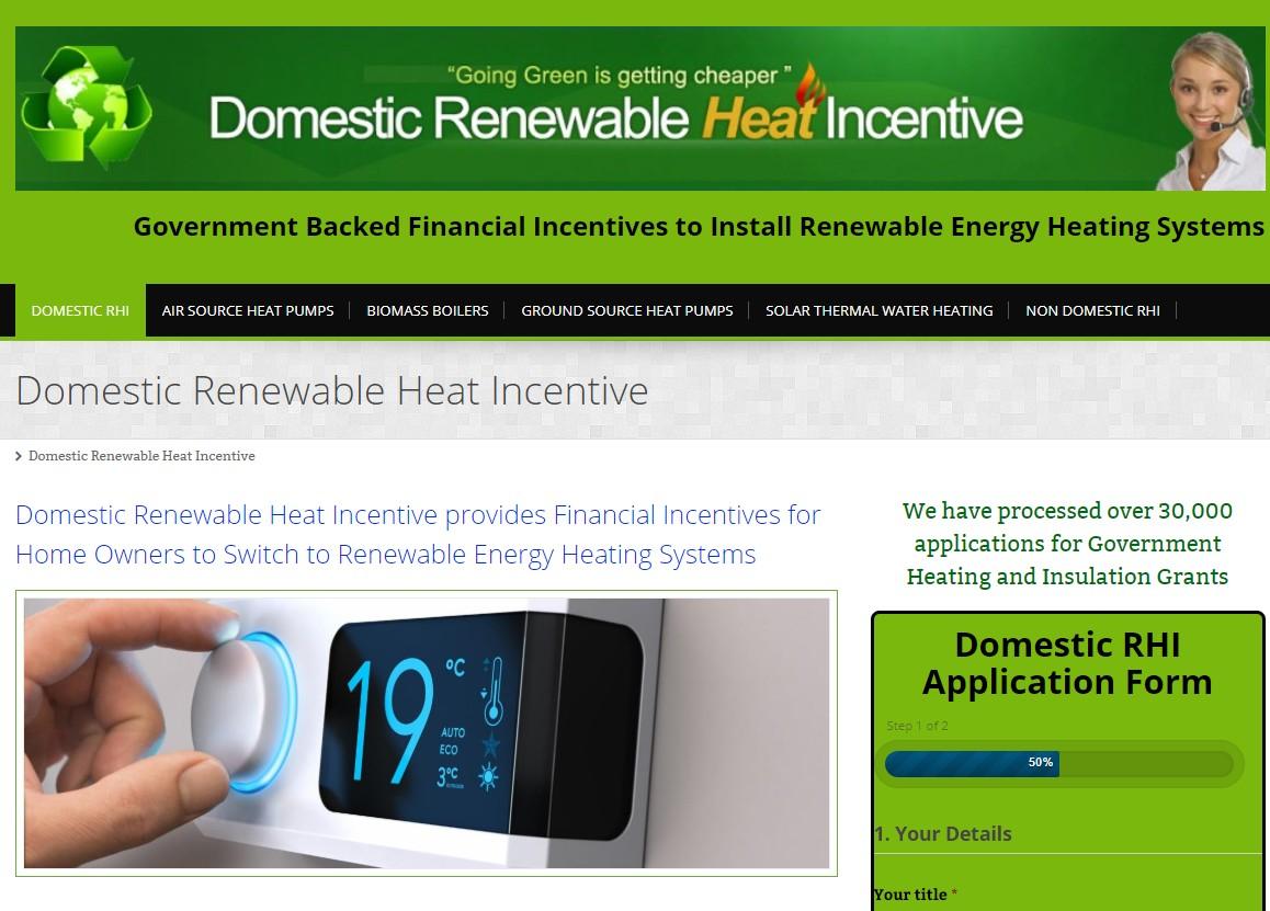 Synergi Marketing Renewable Heat Incentive Leads